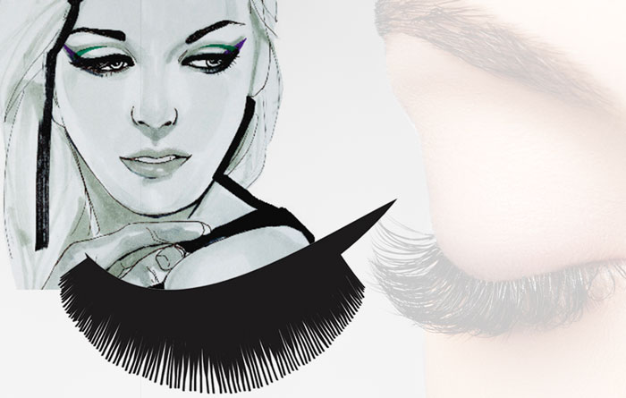 The Socialite – A volumation lash look to try