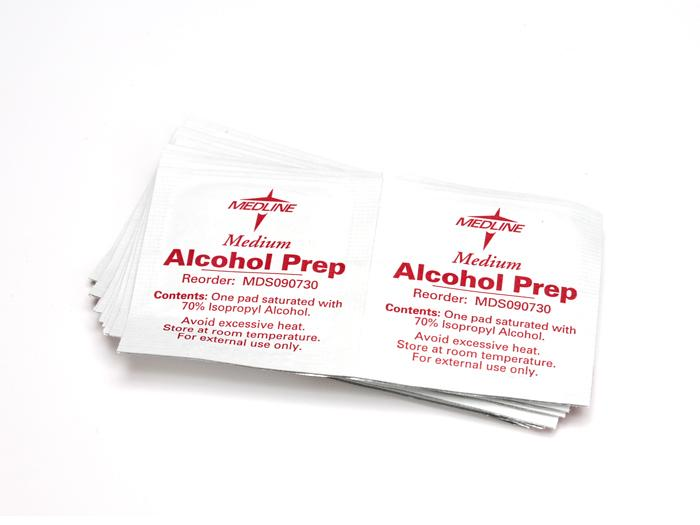 Alcohol Pads (box of 200)