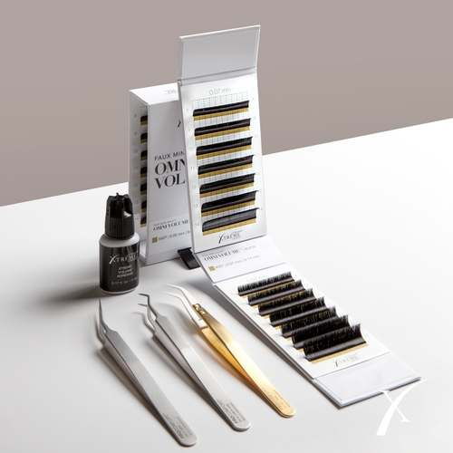 Lash supplies - adhesive, tools and lashes